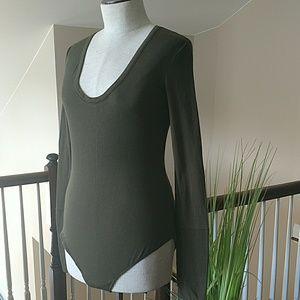 NWT!  Intimately Free People Long Sleeve Bodysuit
